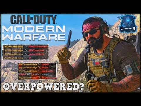 the THROWING KNIFE is OVERPOWERED?? (Modern Warfare Beta Funny & Rage Moments)