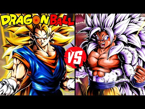 Dragonball z battle saga episode 6 super saiyan 3 - Goku vs vegeta super saiyan 5 ...