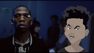 No Jumper feat Tay K & Blocboy JB - Hard (Official Music Video)