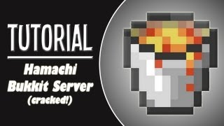 ★ How To Make A Minecraft Bukkit Server With Hamachi