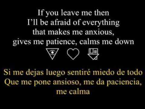 Afraid (Lyrics, traducida) -The Neighbourhood
