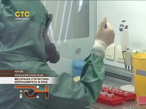 Месячная статистика коронавируса в крае