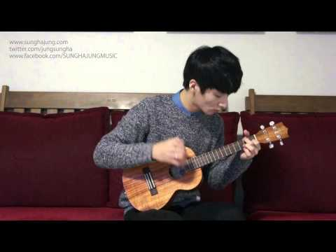(Frozen OST) Let It Go -- Sungha Jung (Ukulele Key Ver)