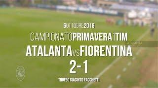 4ª giornata Primavera 1 TIM: Atalanta-Fiorentina 2-1 - Highlights