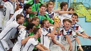 Germany Wins the World Cup 1-0
