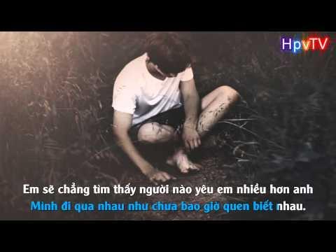 Karaoke HD Vừa Đi Vừa Khóc   Cao Tùng Anh  Beat