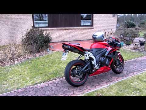 Honda CBR 600 RR Akrapovic
