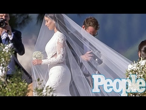 Kim Kardashian Wedding To Kanye West -- Inside Look