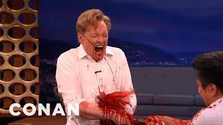 Conan Commits Hari Kari with a Samurai Sword Tarantino Style