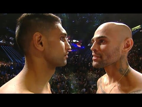 AMIR KHAN VS LUIS COLLAZO - WEIGH IN: REACTION!!!