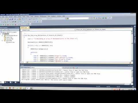 C++ Arrays - YouTube