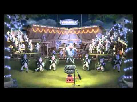 Quảng cáo sữa Vinamilk: bò con nhảy múa