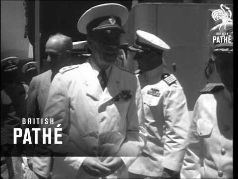 Count Bernadotte In Greece (1948)