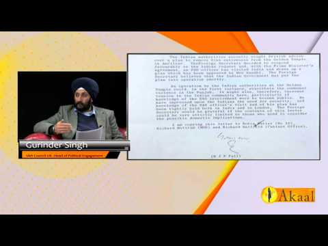 AKAAL CHANNEL UNCENSORED Special (SAS involvement in 1984 operation bluestar)