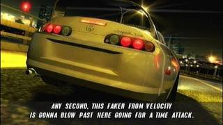 The Fast & The Furious: Tokyo Drift PS2 First Race And