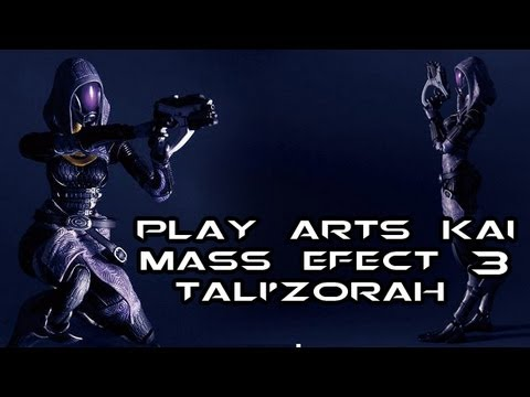 Play Arts Kai TALI'ZORAH Mass Effect 3 Figure Review
