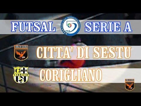 Serie A, Città di Sestu-Corigliano 3x2 (18/10/14)
