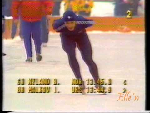 Olympic Winter Games Sarajevo 1984 – 10 km Malkov – Nyland