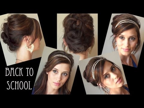 Running Late 10 Fast Easy Hairstyles For School College Work