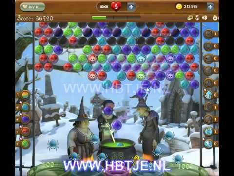 Bubble Witch Saga level 136