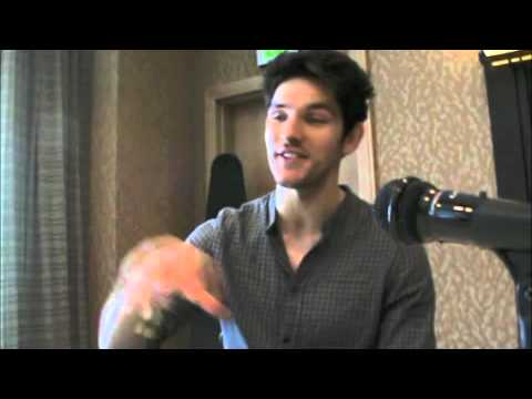"Colin Morgan ""Merlin"" - BBC Merlin - Comic-Con 2012"