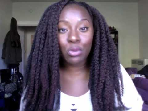 Crochet Marley Hair Youtube : Crochet Braids with Marley Hair - YouTube