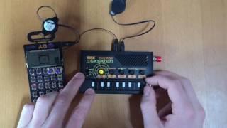 Circuit-Bent Monotron Delay demo