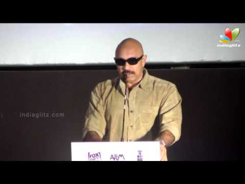 Sathyaraj talks about Madras Cafe Issues | Raja Rani Audio Launch | Arya, Nayanthara