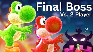 Yoshi's Crafted World - Final Boss + Ending (2 Player Co-Op)