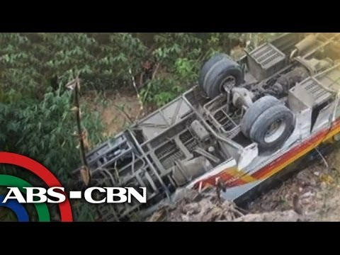 1 dead, at least 40 hurt in Olongapo bus accident
