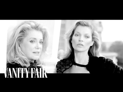 Behind the Scenes: Kate Moss and Catherine Deneuve