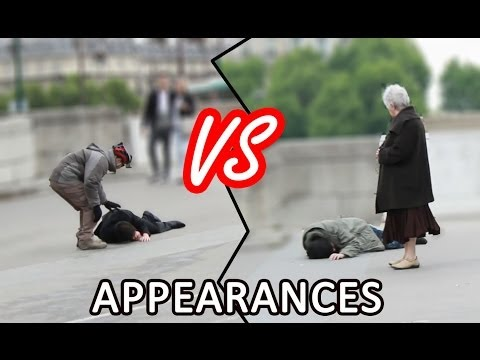 Le poids des apparences | The importance of appearances experiment