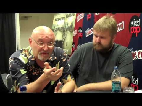 NYCC 2010: Walking Dead - Frank Darabont and Robert Kirkman Interview