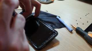 HTC HD7 Digitizer Touch Screen Replacement Technique