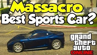 "GTA 5 Online ""DEWBAUCHEE MASSACRO"" BEST SPORTS CAR"