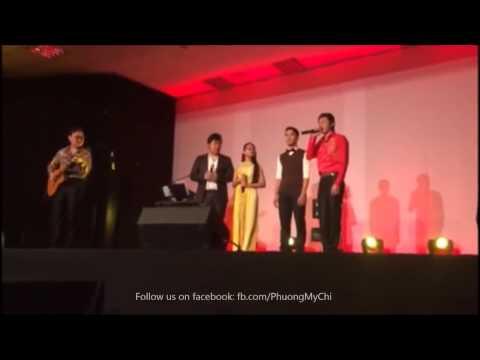 Hoài Linh, Hoài Lâm - Quang Lê, Phương Mỹ Chi tại show Balan