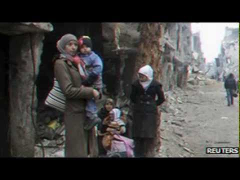 Syria conflict:  UN concerned over Homs detentions