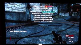 How To Get A Mod Menu For Cod Waw (Xbox 360 Only)