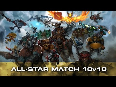 10 vs 10 The international 2015 All Star match Team BigDaddyN0tail vs Team Chuan