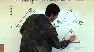 Geometry - Triangle Inequalities for Angles