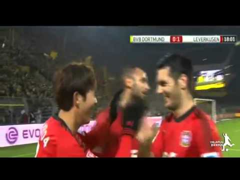 Borussia Dortmund vs Bayer Leverkusen 0-1 | Alle Tore & Highlights | Son H-m | 7.12.2013