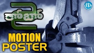 Robo 2 Movie Motion Poster - Rajinikanth,Akshay Kumar, Shankar