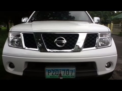 2010 Nissan Navara Review (Start Up, In Depth Tour, Exhaust, Engine)