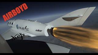 Virgin Galactic SpaceShipTwo First Powered Flight