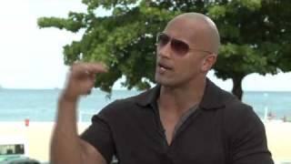 FAST & FURIOUS 5 (Fast Five) Interviews: Dwayne Johnson