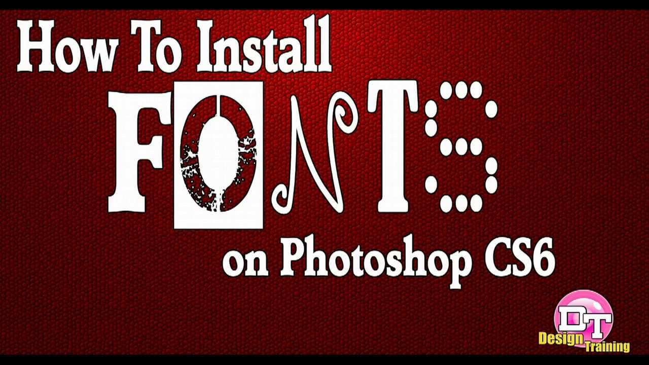fonts for photoshop cs6