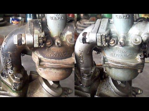 Dầu chống rỉ sét TS-40 làm sạch bình xăng con