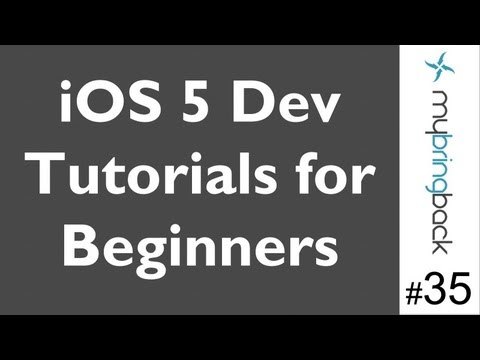 Learn Xcode 4.2 Tutorial iOS iPad iPhone 1.35 In App Email Basics pt 2