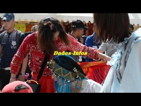 مهرجان الورود بعيون صينية