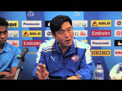 AFC Cup 2014 Pre - Match Conference : Home United FC vs Persipura Jayapura